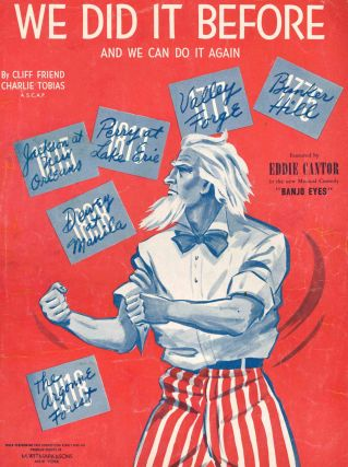 Collection of Early to Mid-20th Century Americana Sheet Music.