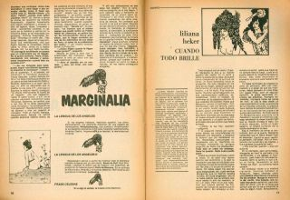 El Ornitorrinco. Revista de Literatura. Later subtitle: Revista Contagiosa. No. 1 (Oct/Nov 1977)...