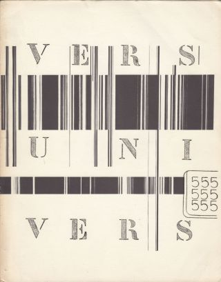 Vers univers, nos. 1-6 (all published).