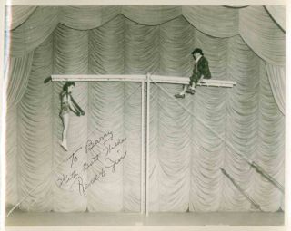 "Photographic Archive Covering the Career of Circus Performers Jim and Renee, ""The Darings"" (aka..."