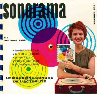 Sonorama. Le Magazine Sonore de l'Actualité. No. 1 (October 1958) through No. 42 (July/August...