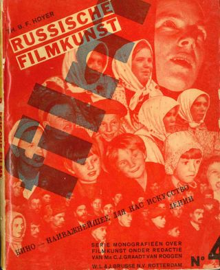 Serie Monografieën Over Filmkunst. Numbers 1 (1931) through 10 (1933) (all published).