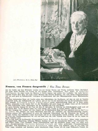 Die Frauen Tribüne. No. 1/2 (January 1933) through No. 8 (Mai 1933) (all published).