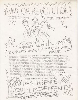 Three Resurgence Youth Movement flyers