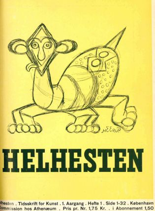 Helhesten. Tidsskrift for Kunst. Year I, No. 1 (13 March 1941) through Year II, No. 5/6 (11...