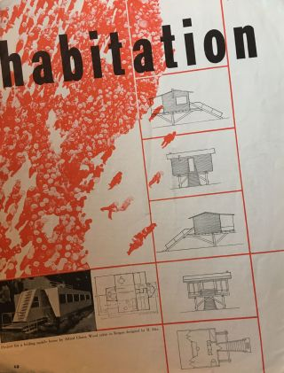 Plus: Orientations of Contemporary Architecture. No. 1 (December 1938) through No. 3 (May 1939) (all published).
