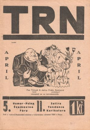 Trn: satirický časopis studentů [The thorn: a satirical student journal]. Vol. 2, no. 5...
