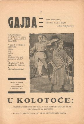 Trn: satirický časopis studentů [The thorn: a satirical student journal]. Vol. 2, no. 9 (1925).