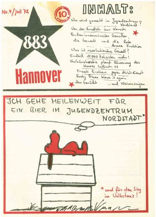 883 Hannover (Hannoversche Achtachtdrei). Nos. 1–5 (all published).