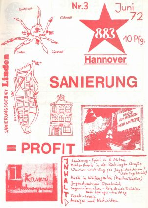 883 Hannover (Hannoversche Achtachtdrei). No. 3 (of five published).