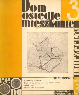 Dom, osiedle, mieszkanie: kwartalnik [Home, housing estate, cooperative apartment: a quarterly]. Group of seventeen early issues: 1929 (1, 6, 7); 1931 (4-8, 11-12); 1933 (2-5, 9-11).
