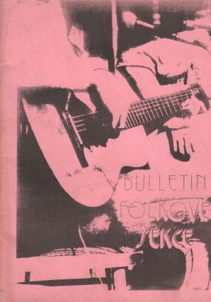 Bulletin Folkové sekce. prosinec 83 [Bulletin of the Folk Section. Fall of 1983]. Unnumbered...