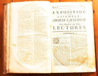 A Compleat Body of Divinity in Two Hundred and Fifty Expository Lectures on the Assembly's Shorter Catechism, Wherein the Doctrines of the Christian Religion are unfolded, their Truth confirm'd, their Excellence display'd, their Usefulness improv'd; contrary Errors & Vices refuted & expos'd, Objections answer'd, Controversies settled, Cases of Conscience resolv'd; and a great Light thereby reflected on the present Age.
