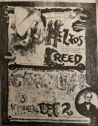 Large Collection of 1980s Bay Area Punk Flyers