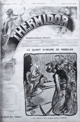 Thermidor: hebdomadaire illustrée [Thermidor: an illustrated weekly], nos. 1-160 (all published).