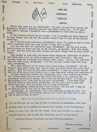 Collection of Ku Klux Klan Ephemera