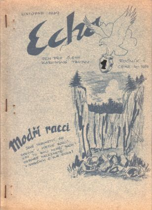 Echo [The echo], vol. I, nos. 1, 2, 3, 7, 8