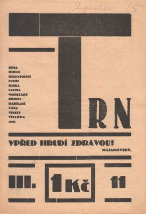 Trn: satirický časopis studentů [The thorn: a satirical student journal]. Vol. 3, no. 11...